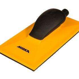 Ручной шлифовальный блок желтый с пылеотводом 115х230мм