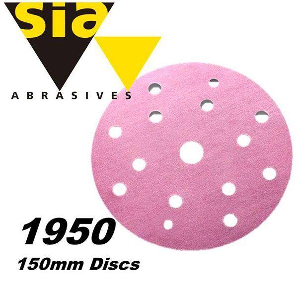 Круг шлифовальный D150 P80-P600 (1950 siaspeed)