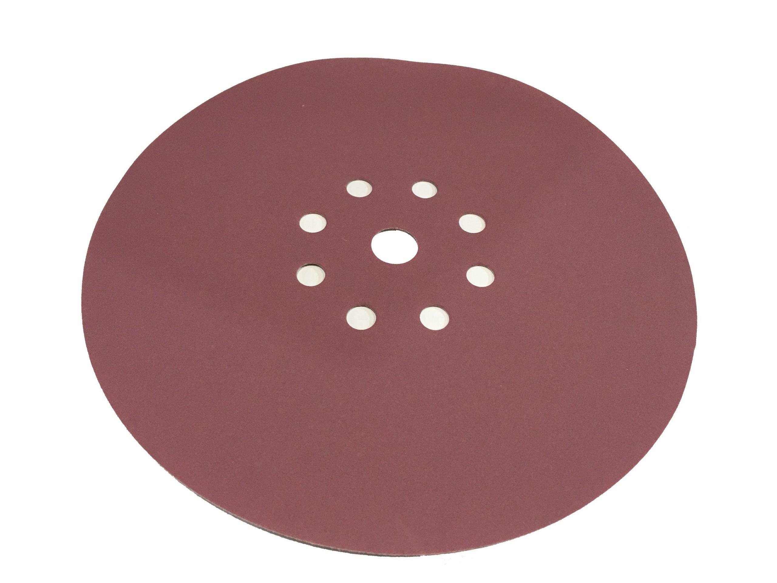 Абразивный материал в кругах SIA D225 P180, 9 отверстий EL (под FESTOOL)