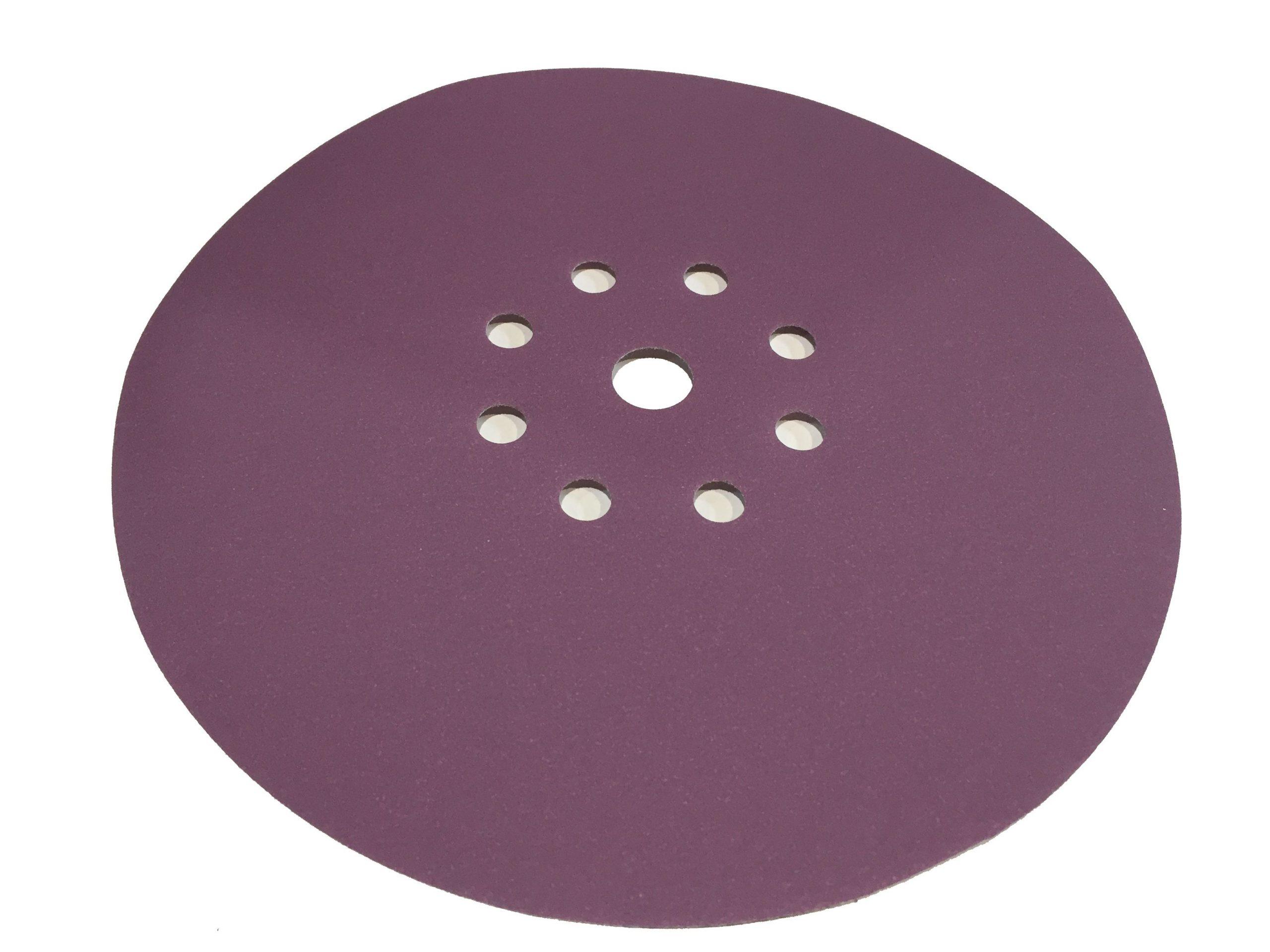 Абразивный материал в кругах SIA D225 P240, 9 отверстий EL (под FEESTOOL)