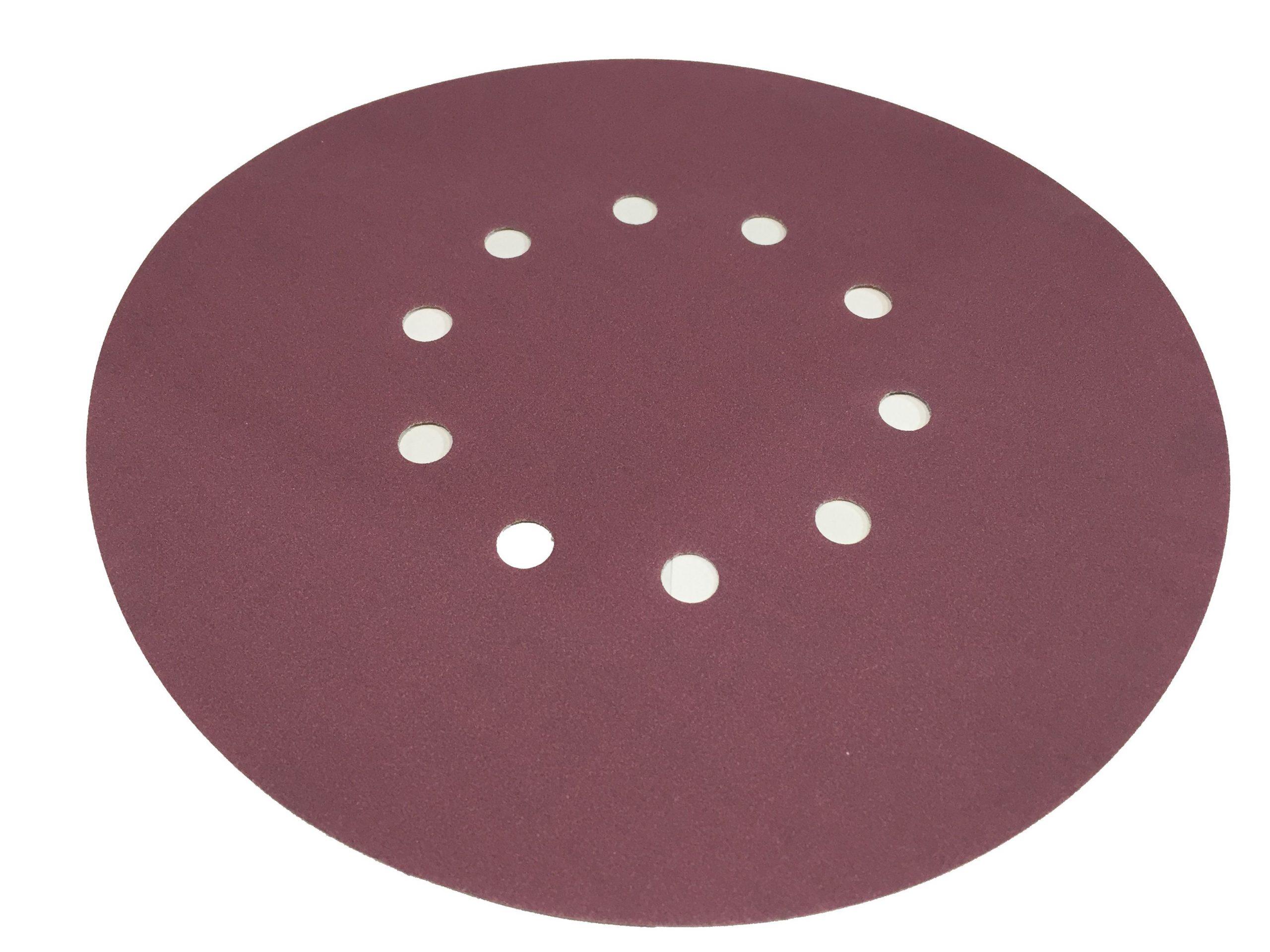 Абразивный материал в кругах SIA D225 P240, 10 отверстий EL