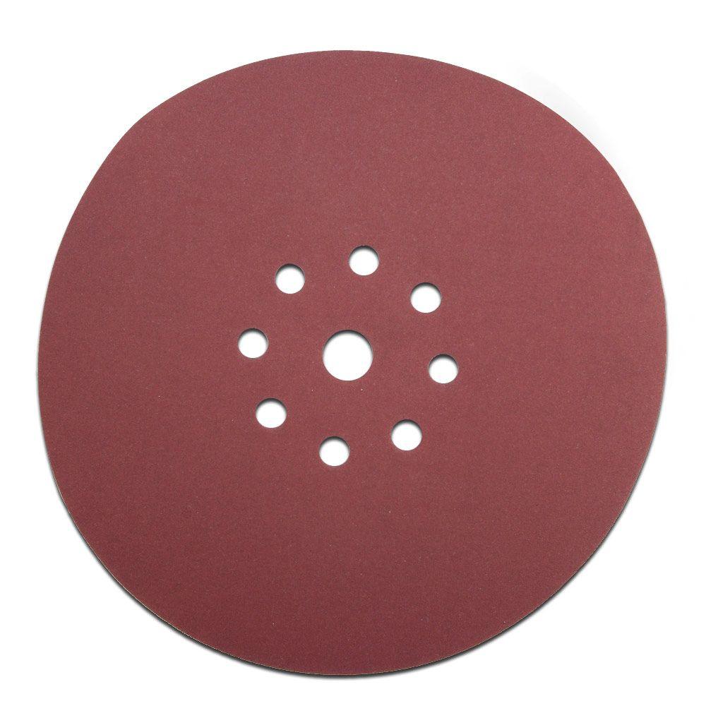 Абразивный материал в кругах SIA D225 P120, 9 отверстий EL (под FESTOOL)