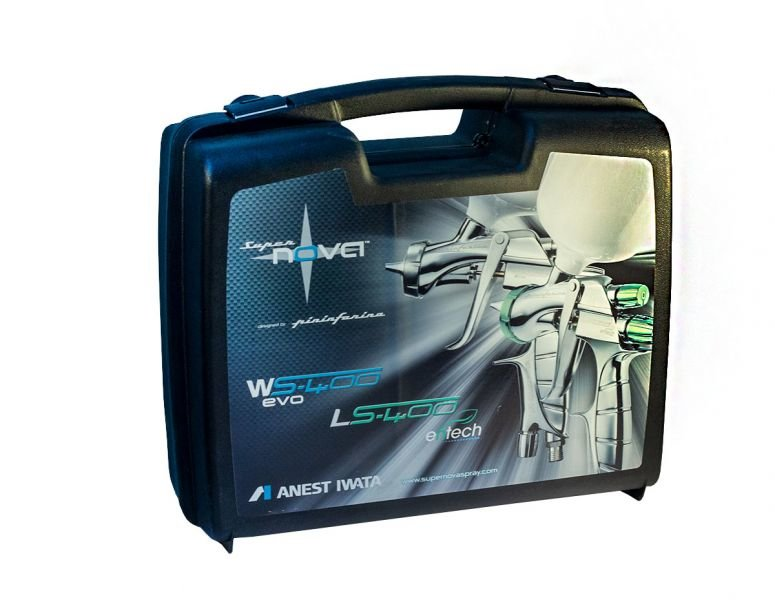 Краскопульт IWATA SUPERNOVA WS-400 HD в пластиковом кейсе