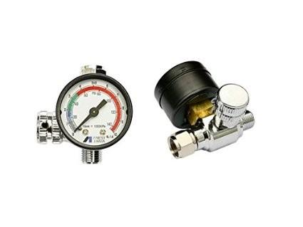 Регулятор давления с манометром IWATA Impact Controller-2