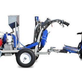 Самоходная разметочная машина HYVST OTM 1700 со стеклошариками