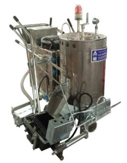 HYVST ORM-ZY100 - машина для нанесения термопластика на дорогу