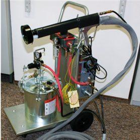 Мобильная электростатическая окрасочная установка