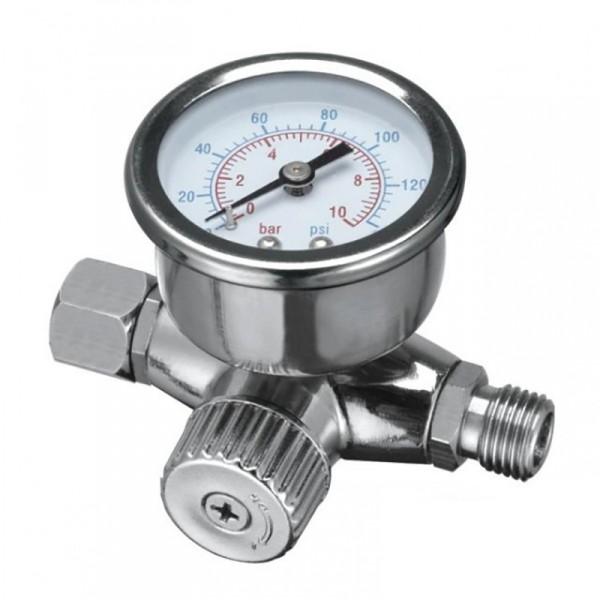 Регулятор давления на краскопульт с манометром