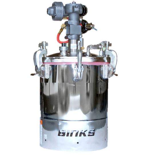 Бак BINKS 10 литров 183S-213-CE с мешалкой с редуктором