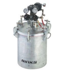 Бак BINKS 40 литров 183G-1013-CE с мешалкой с редуктором