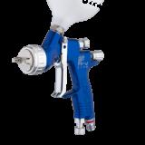 Краскопульт GTiPRO LITE BLUE с верхним бачком синий