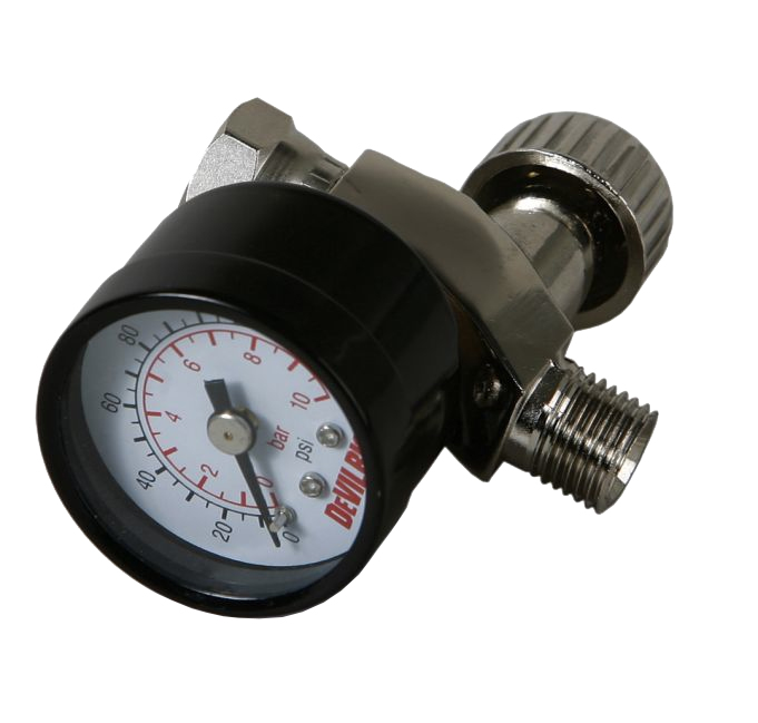 Регулятор давления с манометром DeVilbiss HAV-501-B